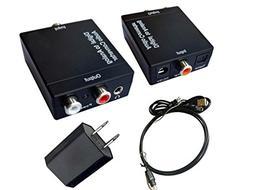 EULAN Digital to Analog Converter DAC Digital SPDIF Optical
