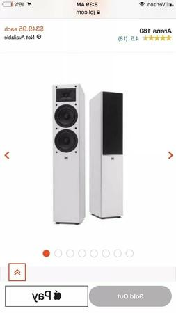 arena 180 tower surround sound speakers piano