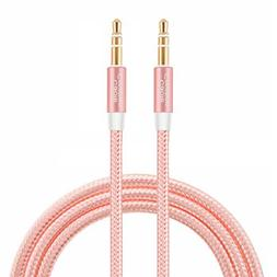 CableCreation 6 Feet 3.5mm Male to Male Stereo Audio cable,