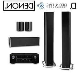 Denon AVR-S720W Receiver Bundle with Definitive Technology B