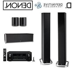 Denon AVR-X2300W Receiver Bundle with BP9060 Tower Speakers,