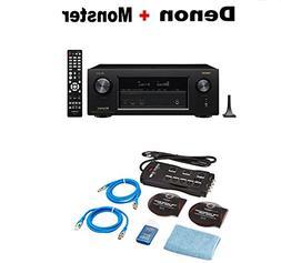 Denon AVR-X3400H 7.2 Channel Full 4K Ultra HD AV Receiver wi