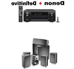 Denon AVR-X3500H 7.2-Channel AV Receiver with HEOS + Definit
