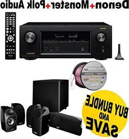 Denon AVRX2200W 7.2 Channel Full 4K Ultra HD A/V Receiver wi