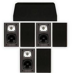 Theater Solutions B1 and C1 Bookshelf Surround Sound Home Th