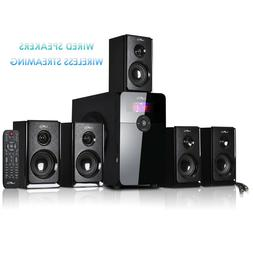 beFree 5.1 Channel Surround Sound Speaker System w Bluetooth