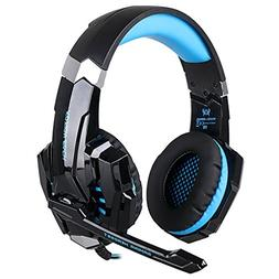 KOTION EACH pro gaming headsets G9000 Gold plated 3.5mm 4-pi