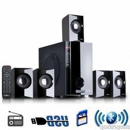 beFree Sound BFS-430-BLK 5.1 Channel Surround Sound Bluetoot