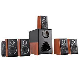 beFree Sound BFS-450W Luxury 5.1 Channel Surround Sound Blue