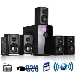 beFree Sound BFS450 5.1 Channel Surround Sound Bluetooth Spe