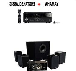 Yamaha Bluetooth Audio & Video Component Receiver Black  + E