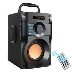 Bluetooth Speaker Portable Subwoofer Super LCD 360° Surroun