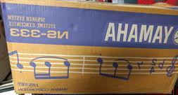 BRAND NEW Yamaha NS-333 2-Way Bass Reflex Bookshelf Speakers