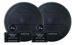 Hifonics BZE65C 6.5 Inch 2-Way Car Audio Component System Sp