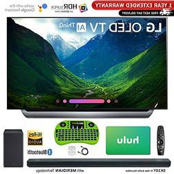 LG C8 OLED 4K HDR AI Smart TV  + LG SK10Y 5.1.2-Channel Hi-R