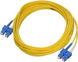 C2G/Cables to Go 16816 SC-SC 9/125 OS1 Duplex Single-Mode PV