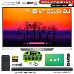 LG Class E8 OLED 4K HDR AI Smart TV  + LG SK10Y 5.1.2-Channe