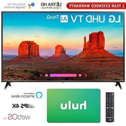 "LG 65"" Class 4K HDR Smart LED AI UHD TV w/ThinQ 2018 Model"