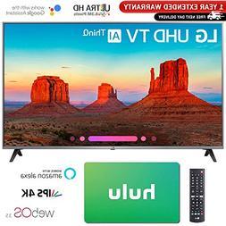 "LG 55"" Class 4K HDR Smart LED AI UHD TV w/ThinQ 2018 Model"