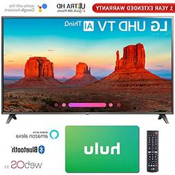 "LG 75"" Class 4K HDR Smart LED AI UHD TV w/ThinQ 2018 Model"