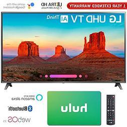 "LG 75"" Class 4K HDR Smart LED AI UHD TV w/ThinQ 2018 Model"