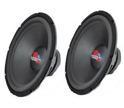 Lanzar 15in Car Subwoofer DVC - IB Open Air Audio Stereo Spe