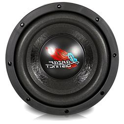 Lanzar Car Subwoofer Audio Speaker - 8in Black Non-Pressed P