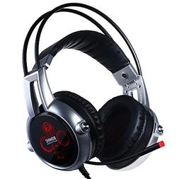 SOMIC E95X Realistic 5.2 Surround Sound USB Gaming Headset L