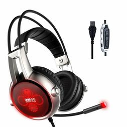 SOMIC E95X USB Real 5.2 Channel Surround Sound Gaming Headse