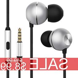 in-Ear Earbuds Headphones, ONHI Yeel 3 Surround Sound Earpho