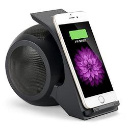 CENSHI Wireless Charger Bluetooth Speaker for Samsung Galaxy