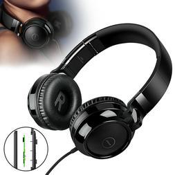 Foldable Over-Ear Headphones HIFI 4D Surround Sound Earphone