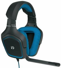 Logitech G430 7.1 DTS Headphone X and Dolby Surround Sound G