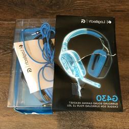 Logitech G430 7.1 DTS Surround Sound Gaming Headset - Black