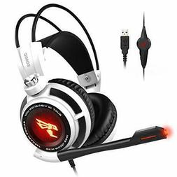 SOMIC G941 Gaming Headset for PS4, PC and Lapto: 7.1 Virtual