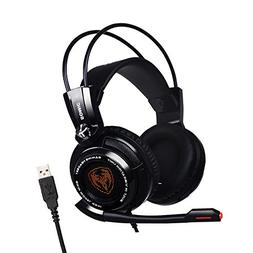 SOMIC G941 Gaming Headset For PS4, PC and Laptop, 7.1 Virtua