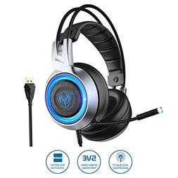 SOMIC G951 USB Plug Stereo Sound Gaming Headset for PC, PS4,