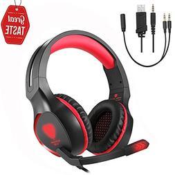 Game Headset SL-100 Gaming Headphone Surround Stereo Headpho