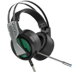 Gaming Headset 7.1 Surround Sound Bass Game with Mic for Com