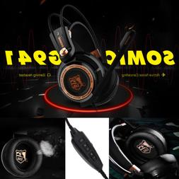 gaming headset noise cancelling 7 1 virtual