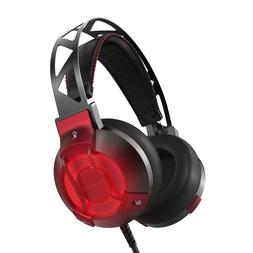 Gaming Headset USB Headphones 7.1 Surround Sound Built In Mi