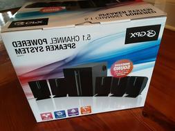 GPX 5.1 surround sound Speaker System, NEW still in box!