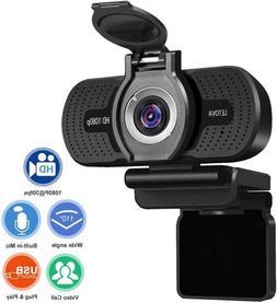 Letova HD Webcam & Mic 1080P & shutter -Same as  Logitech C9