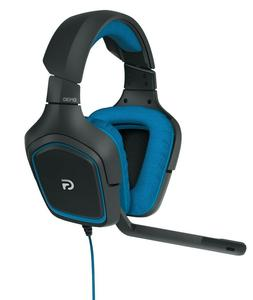 Headset Gaming G430 Logitech Surround Sound 7 1 Dolby Dts An