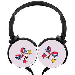 Hidui Heavy Bass Headphone Fruit Killer Surround Sound High