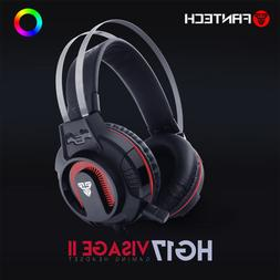 Surround Sound Gaming Headset Stereo LED Headphones with Mic