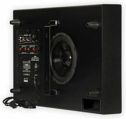 """Home Theater 250 Watt Surround Sound HD Slim 4.75""""Powered Ac"""