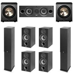 Home Theater Surround Sound 7.2 System Center Speaker Acoust