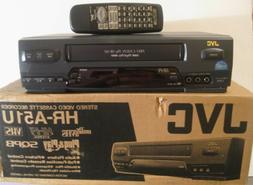 JVC HR-A51U VCR 4-Head Stereo
