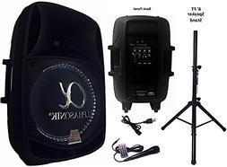 Alphasonik Decor Modern Home Portable Bluetooth Speaker 360